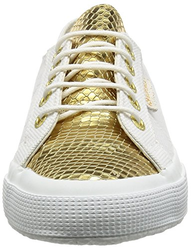 Unisex Sneaker 902 2750 Gold Adulto White Cotleasnakeu Superga Multicolore 1q7gfwxH7R