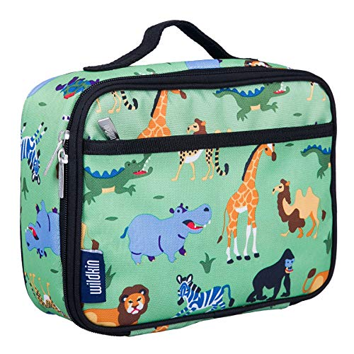 Wild Animals Fun Kit - Wildkin Lunch Box, Wild Animals