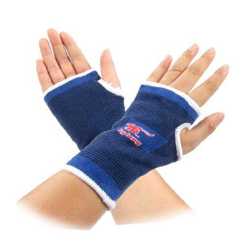 eDealMax lastique Sport Tissu de Basket-Ball Bande de Protection Palm Support Soulagement de la douleur Paire