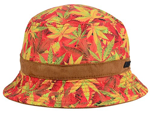 Official Crown Of Laurel Printed Bucket Hat (Large/X-Large, Weed Bucket)