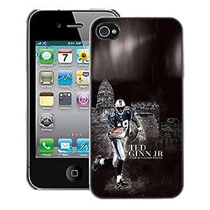 Snap-on Series Teléfono Carcasa Funda Case Caso para iPhone 4 / 4S , ( Football 19 Ginn )