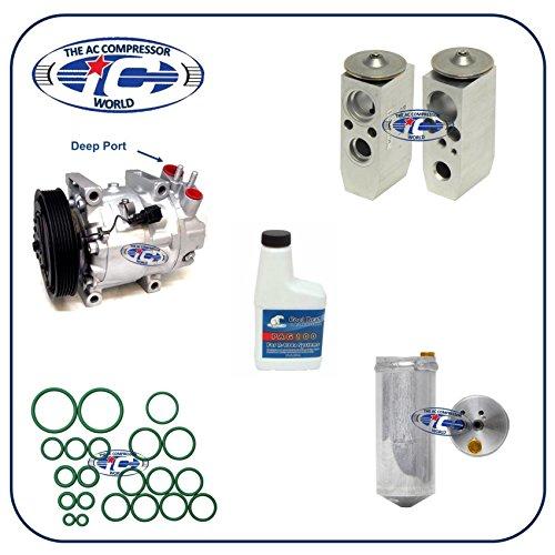 A/C Remanufactured Compressor Kit Fits Infiniti I30 2000-2001 3.0L Nissan Maxima 2000-2001 3.0L 67655 (Compressor Infiniti I30 A/c)