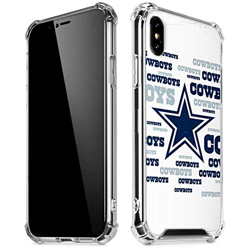 on sale 94c8f cbe95 Skinit Dallas Cowboys Blue Blast iPhone XR Clear Case - Officially Licensed  NFL Phone Case Clear - Transparent iPhone XR Cover