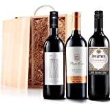 Sendagift by Virgin Wines Blockbusting Red Wine Gift Trio In Wooden Gift Box