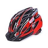 EDTara - Casco de ciclismo para bicicleta de montaña, protección de seguridad integrada, transpirable, casco de ciclismo para hombre y mujer
