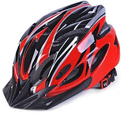 Yiwa Casco de bicicleta ultraligero, casco de ciclismo transpirable moldeado para hombre y mujer