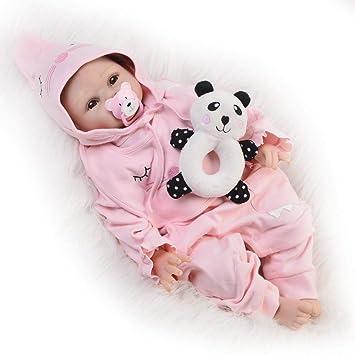 MGF Reborn Baby Doll Ropa Rosa, 22 Pulgadas extremidades de ...