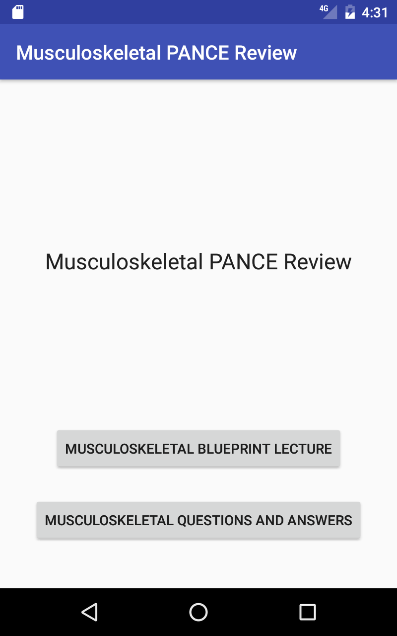 Amazon musculoskeletal blueprint pance review appstore for android 000 malvernweather Image collections
