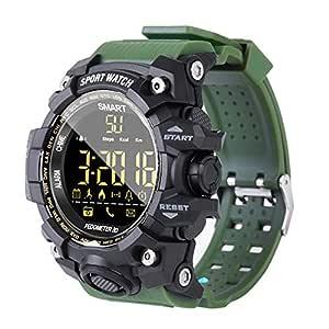 Milnnare Reloj Inteligente,Deportes Impermeable Bluetooth ...
