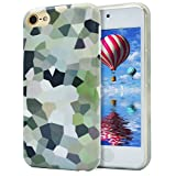 iPod Touch 6 Case,iPod Touch 5 Case,Dailylux Hard PC + Soft TPU Edge Protection Ultra thin Shockproof Cover with Air Cushion Technology Cover for iPod Touch 5th/6th Generation-Glass ball