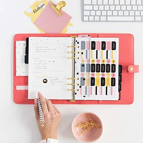 Planner personal. Rosa. A5