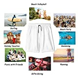 Men's Swim Trunks with Pockets,Pattern Hands Hamsa