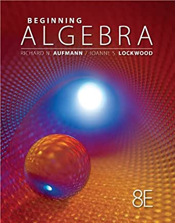 Aufmann beginning edition 8th algebra pdf
