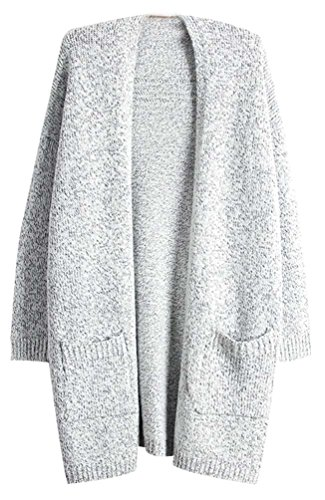 Long Feminin Tops Gris Sous Synthetic Hiver Cardigan Mode Coton Sweater Chaud Maille Automne Tricots Femme Pull Grosse Chandail Sweaters OIgqfO