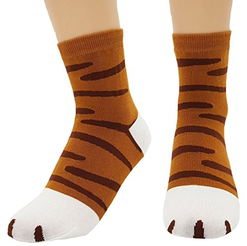 JJMax Women's Cute Kitty Cat Paws Socks with Paw Prints for sale  Delivered anywhere in USA