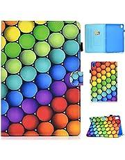MUTOUREN Funda Compatible con Huawei M6 8.4, Ultra Slim Protectora Cover con Soporte para lápiz/Función Auto Sueño/Estela/Duradero-Círculo de Color