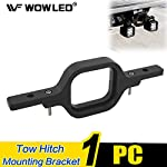 WOWLED Tow Hitch Light Mounting Bracket Backup Reverse Light Offroad Truck Lamp Bracket