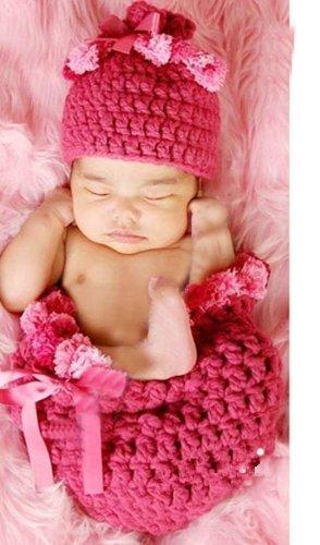 Amazon.com: dealzip Inc Knit trajes para bebés fotos las ...