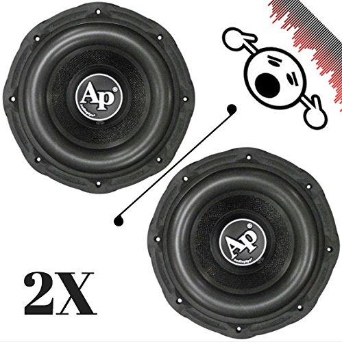 2新しいAudiopipe txxbd215 15インチ4 Ω 1600 W Maxデュアル800 W RMS車サブウーファーx2ペア B07BV9JB28