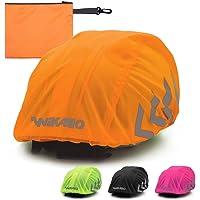 Wikallo® Waterdichte regenhoes voor de fietshelm, reflectoren, waterdichte regenhoes, fietshelm, uniseks, regenhoes voor…