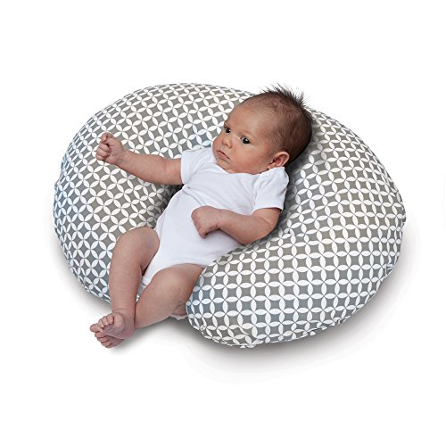 Boppy Nursing Pillow and Positioner, Gray/White by Boppy (Image #2)