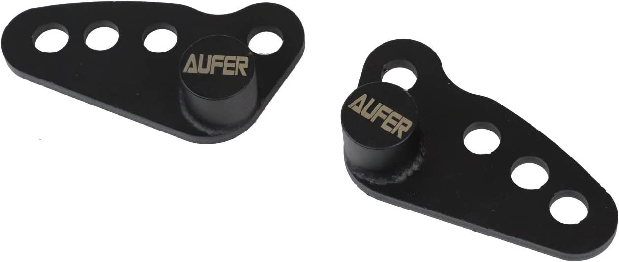AUFER Rear Adjustable Slam Lowering Kit 1-3 inches for Touring Street Glide Electra Glide Ultra Glide Standards 2002-2016