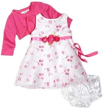 Amazon.com: Youngland Baby Girls' 3 Piece Embroidery Dress