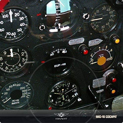POLJOT 3133 Chronograph A4C BR Montre de bordeur Russe