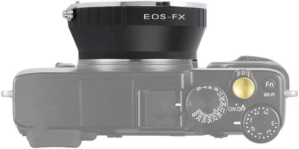 Lens Adapter Ring Converter for Canon EOS EF//EF-S Lens to for Fuji FX Mount Camera V BESTLIFE Lens Adapter Ring