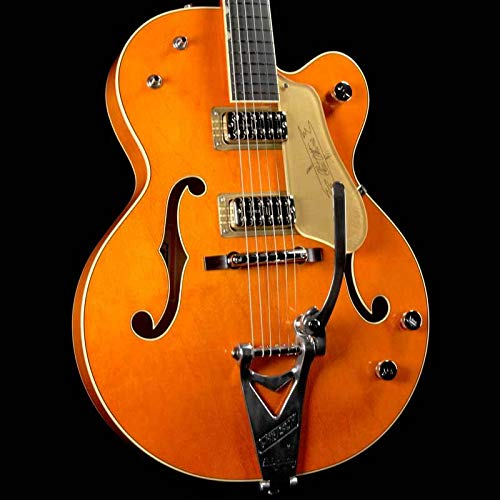 - Gretsch G6120T-59 Vintage Select 1959 Chet Atkins - Western Orange Stain, Bigsby