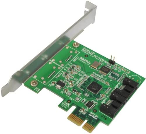 High Point Rocket 620 2 SATA Port PCI-Express 2.0 x1 SATA 6Gb//s Controller