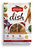 Rachael Ray Nutrish Dish Super Premium Dog Food, Beef & Brown Rice Recipe with Real Meat, Veggies & Fruit You Can See, 11.5 lbs