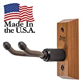 Ukulele Hanger Wooden Wall Mount Made in the USA or Mandolin Hanger - Cherry Hardwood - by String Swing CC01UK-C