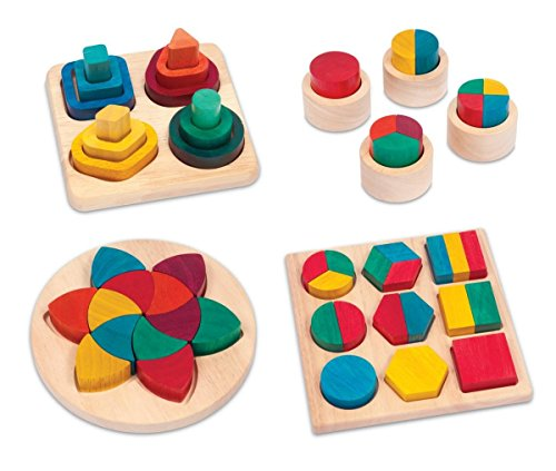 Rainbow Fraction Action Color Sorting Board Set (set of (Guidecraft Fraction Cups)