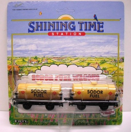 Shining Time Station: Thomas The Tank Engine: SODOR FUEL WAGONS by Ertl: Shining Time Station