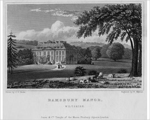 10x8 Print of Ramsbury Manor, Wiltshire (7212799)