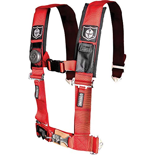 (Pro Armor A114230RD Red 4-Point Harness 3