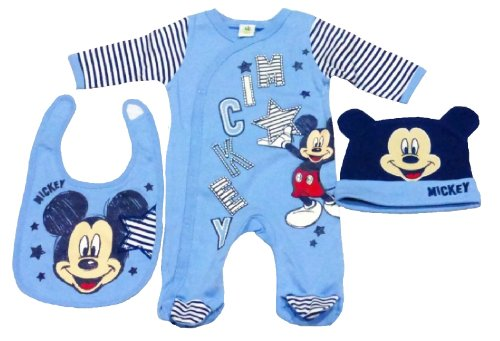 Ihram Kids For Sale Dubai: Disney Mickey Mouse Baby Boy Clothes Set With All In One