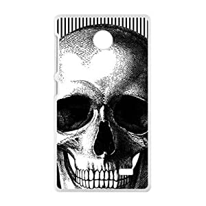 Flowers Skull Hot Seller High Quality Case Cove For NOKIA X