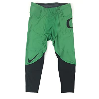 NIKE Men's L Oregon Ducks Digital Vapor Speed Tight Football Pants Green