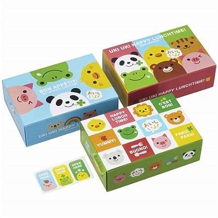 funny animal bento food disposable paper bento box sandwich