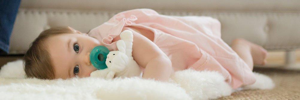 WubbaNub Lamb Infant Pacifier by WubbaNub