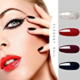 AZUREBEAUTY Gel Nail Polish Starter Kit with 48W