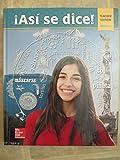 Asi se Dice! Spanish 1 - Teacher Edition