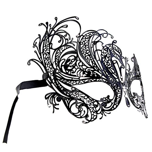 IETANG One Pair Couple's Gorgeous Venetian Masquerade Masks Party Costumes Accessory