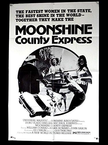MOONSHINE COUNTY EXPRESS-VG/FN-ONE SHEET--CONRAD-HOWARD- VG/FN