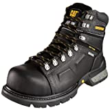 "Caterpillar Men's Endure 6"" Superduty Waterproof Steel Toe Boot,Black,12 W US"
