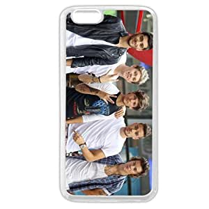 UniqueBox Customized White Soft Rubber(TPU) One Direction(1D) iPhone 6 4.7 Case, Only fit iPhone 6 4.7""