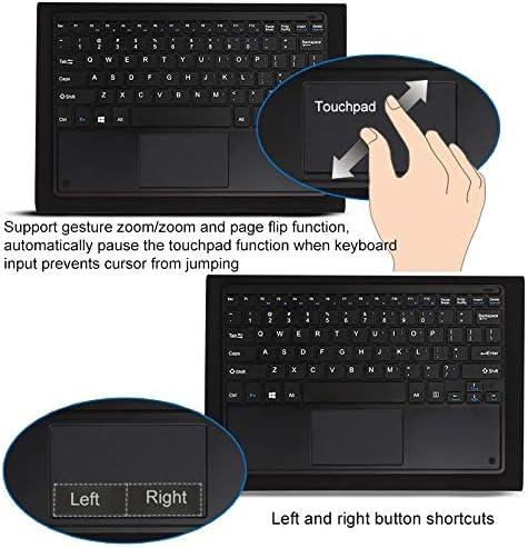 Caja Protectora de la Tableta Teclado Suave de Acoplamiento magnético for PC Tablet for Puente EZpad 6 (Negro) (Color : Black) HpFBhLIt