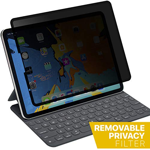 iPad Pro 12.9 Removable Privacy Screen Protector, Landscape Privacy Anti-Spy Filter, Anti Glare Scratch Resistant Film Compatible with iPad Pro 2018/19 Release/Apple Pencil Compatible (Best Landscape Camera 2019)
